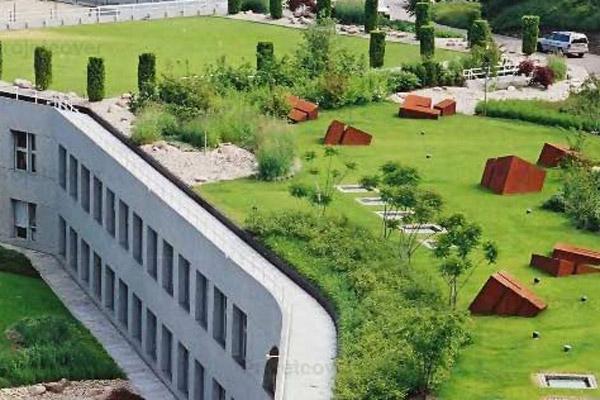 Coperture industriali e civili projetcover realizzazione for Soluzioni giardini pensili